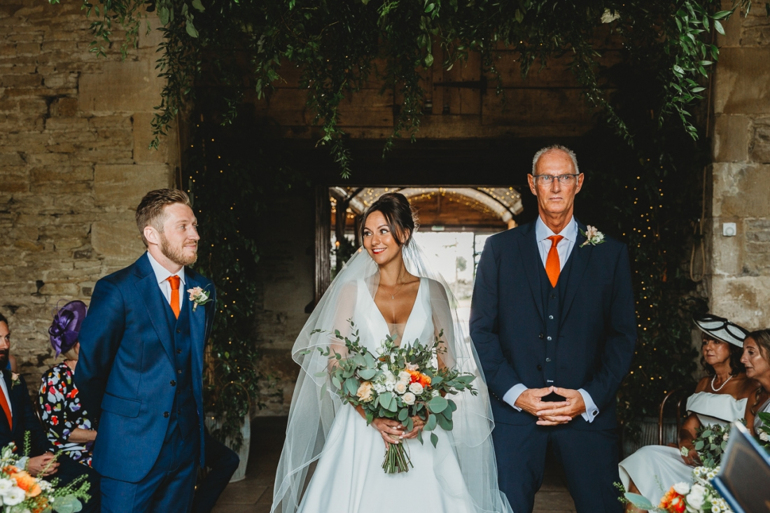 Cotswold Wedding Photography Cripps Barn Stone Barn 25 of 79