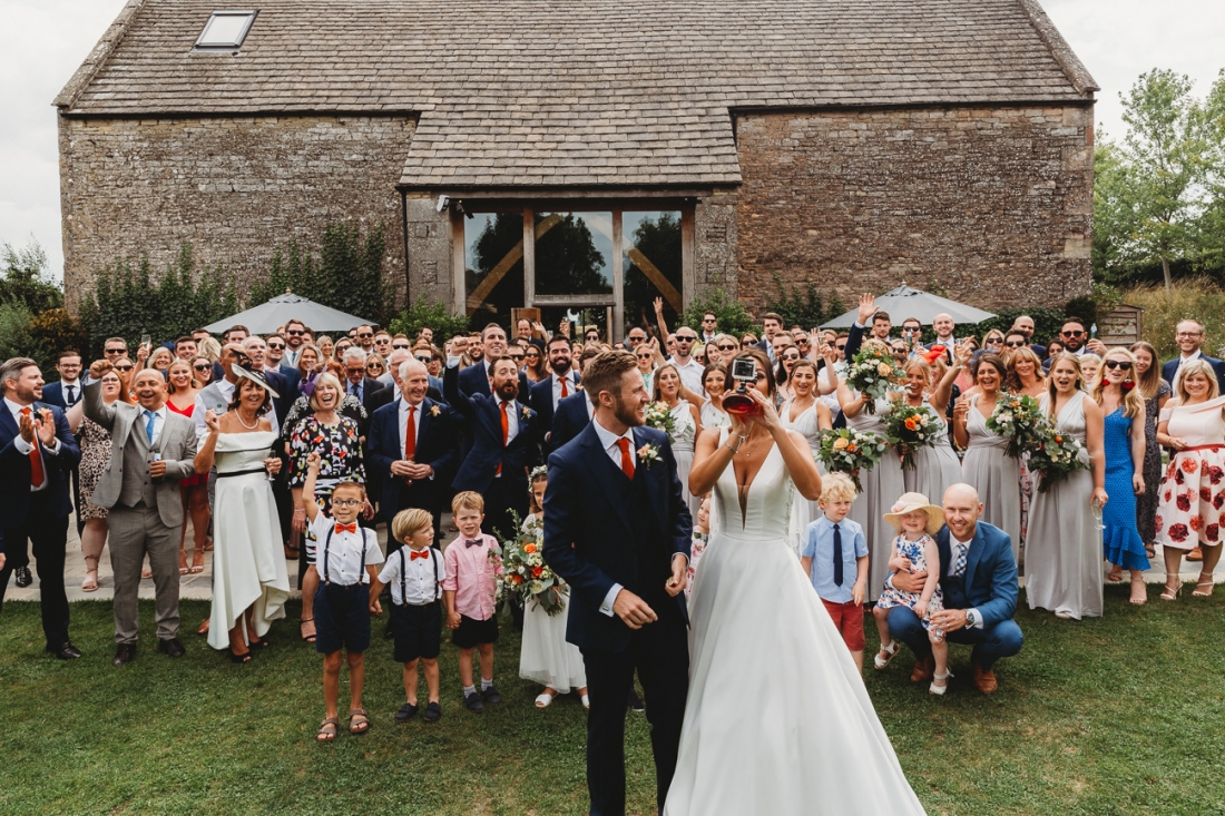 Cotswold Wedding Photography Cripps Barn Stone Barn 31 of 78